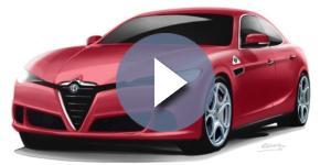 Nuovo design non ufficiale di Marco Renna per l'Alfa Romeo Alfetta