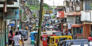 Uno scorcio della città di Marawi, nelle Filippine meridionali, dove sono in corso scontri tra esercito e e terroristi islamici del Gruppo Maute
