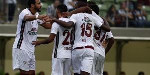 Vitória do Flu sobre o Atlético-MG teve boa audiência no Rio (Foto: Nelson Perez/Divulgação FFC)