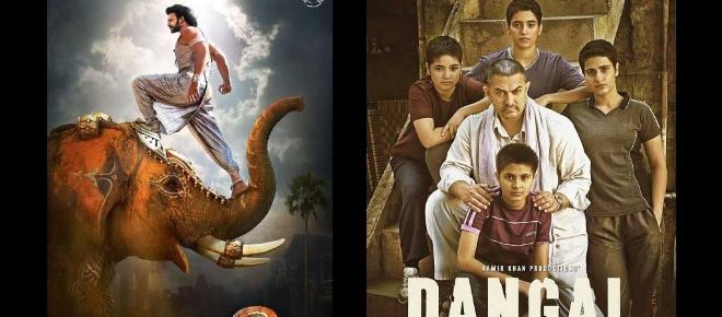 Dangal surpassed Bahubali 2 collection at the worldwide ticket window