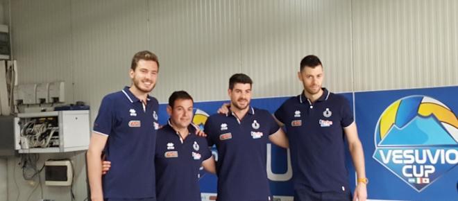Napoli riabbraccia la pallavolo con la Vesuvio Cup