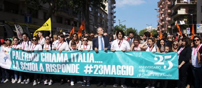 23 maggio 1992, commemorazione Falcone 25 anni dopo