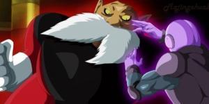 FanArt de Toppo vs Hit en el Torneo del Poder
