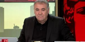 LA SEXTA TV | Ferreras en un momento de su programa Al Rojo Vivo.