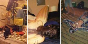 Pessoas que se arrependeram de dormir bêbadas