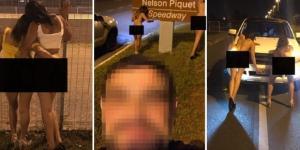 Policial tira fotos com mulheres nuas e causa polêmica (Foto: Reprodução)
