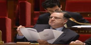 Richard Ferrand le 13 février 2015 lors d'une séance publique à l'Assemblée nationale