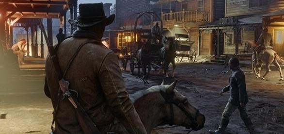 """""""Red Dead Redemption 2"""" will find its way to Xbox One and PlayStation 4 in Spring 2018, following a delay. (Rockstar Games)"""