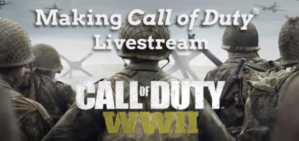 The Making Call of Duty Livestream event. Photo via Call of Duty FB page https://www.facebook.com/CallofDuty/