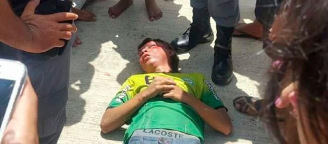 Suspeito é espancado pela população após tentativa de assalto em Manaus