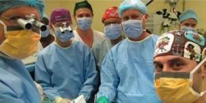 Equipe que fez a cirurgia de transplante de pênis