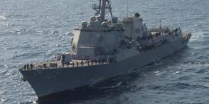Il cacciatorpediniere americano USS Dewey, il cui ingresso nelle acque Spratly fa crescere la tensione tra USA e Cina
