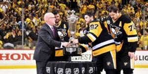 Los Penguins son campeones de la Conferencia Este por segundo año consecutivo. NHL.com.