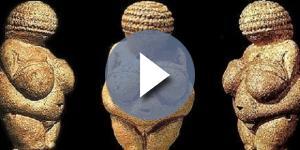 """""""Venus"""" de Willendorf, una clara alusión a la """"Gran Madre Tierra""""."""