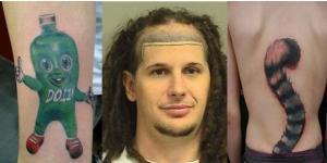 Tatuagens diferentes e engraçadas