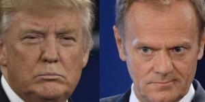 Trump zignorował Tuska podczas spotkania na szczycie NATO (fot.rp.pl)