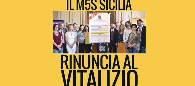 Vitalizi, i deputati regionali siciliani del M5s rinunciano alla pensione