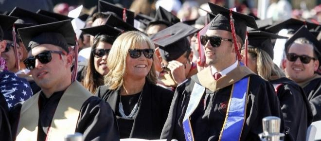 Mother attended college to help quadriplegic son get his MBA