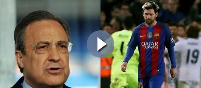 ¡De eso nada! Florentino Pérez revienta el fichaje más deseado de Leo Messi
