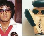 Algumas semelhanças muito perfeitas: Elvis Presley e a luva de box