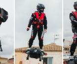 Așa arată hoverboard-ul capabil să atingă 150 km/h, proiect de care este interesată armata americană - Foto: guinnessworldrecords.com