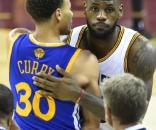 LeBron James and Stephen Curry from the Blasting News library