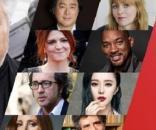 Pedro Almodóvar con algunos de los miembros de su Jurado (Agnès Jaoui, Will Smith, Paolo Sorrentino o Jessica Chastain entre ellos).