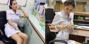 A enfermeira Parichat 'Pang' Chatsri foi demitida por ser muito bonita