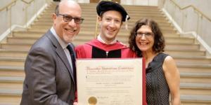 Facebook CEO, Mark Zuckerberg Finally Graduates From Harvard ... - gistreel.com