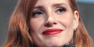 Jessica Chastain, actriz principal de El Caso Sloane (vía Google - Gage Skidmore)