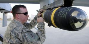 Missile con dedica per le vittime di Manchester su obiettivi Isis.