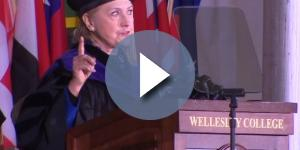 Clinton delivers fiery commencement speech at alma mater - wvtm13.com