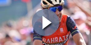 Vincenzo Nibali, solo 43'' lo separano dalla maglia rosa