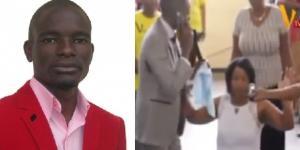 Pastor que fala com Deus pelo telefone no Zimbábue (Foto: Reprodução)