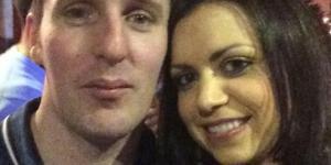 Paul and Louise Fogarty, genitiori di Chloe, la neonata di 7 mesi morta ieri. Il padre Paul l'ha dimenticata nell'auto a temperature proibitive.