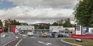 Un braquage a mal tourné à l'Intermarché de Provins (Seine et Marne) ce matin.