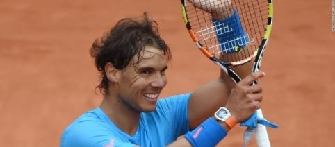 Rafael Nadal looks for 10th French Open title (Image credit: cnn.com)