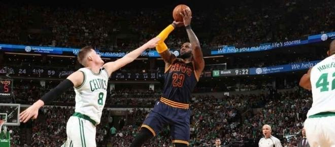 Cavs dominate Celtics in Game 4 to advance to NBA Finals