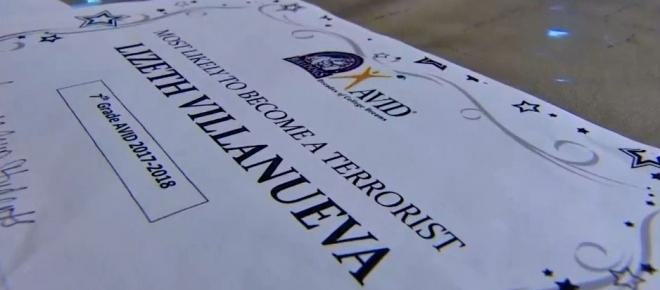 Texas student wins joke award 'most likely to become a terrorist'