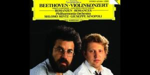 Il giovane Shlomo Mintz sulla copertina di un Cd.
