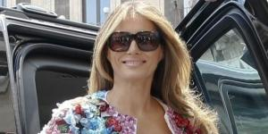 Melania Trump Turns Heads in $51,000 3D Flower Jacket - Photo: Blasting News Library - f3nws.com