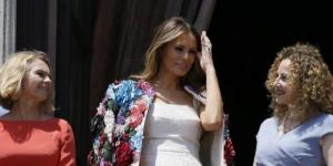 Melania Trump wears $51K Dolce & Gabbana jacket in Sicily ... - mix965tulsa.com