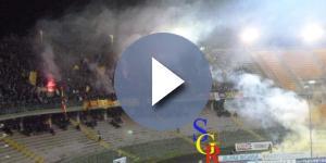 Tanti spettatori per Lecce- Alessandria. Foto Salento Giallorosso.