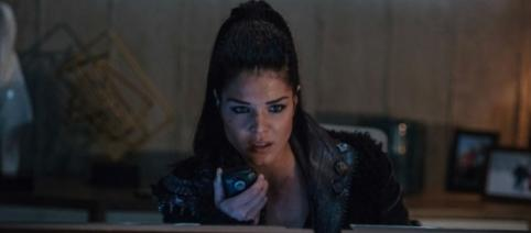 Octavia (Marie Avgeropoulos) in 'The 100'/Photo via 'The 100'/The CW