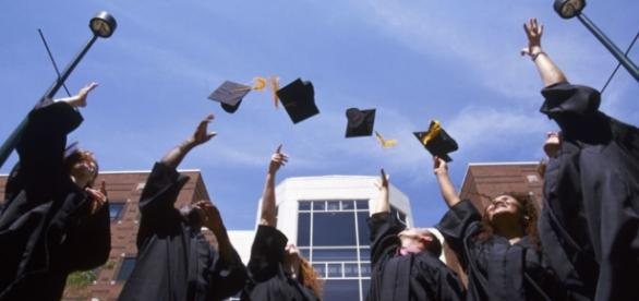Graduation photo via BN library