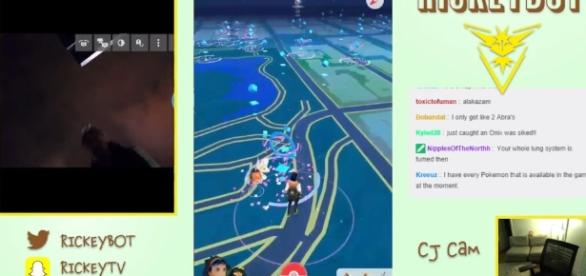 Pokemon Go crime mugging live stream New York - thesun.co.uk