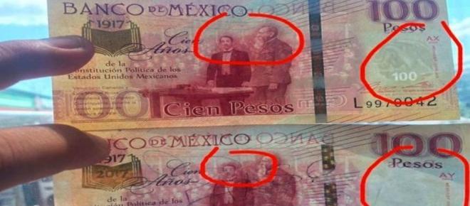 Alertan por billetes falsos en circulación