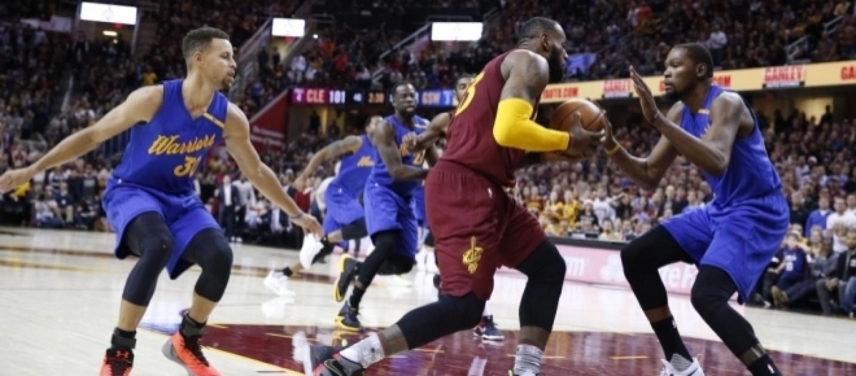 Are the 2017 Warriors LeBron James' biggest challenge?