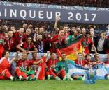 IL PSG campione della Coppa di Francia in una foto di eurosport.fr