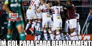 São Paulo venceu o Palmeiras no Morumbi